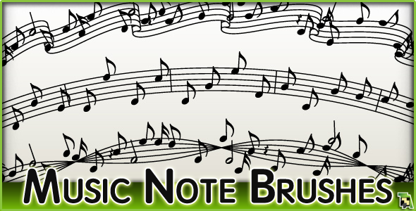 MusicNoteBrushSetBillboard