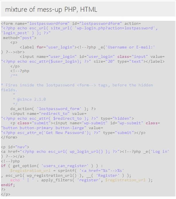 pTemplate: Daha İyi PHP Kod HTML Tasarım Ayrı - 9