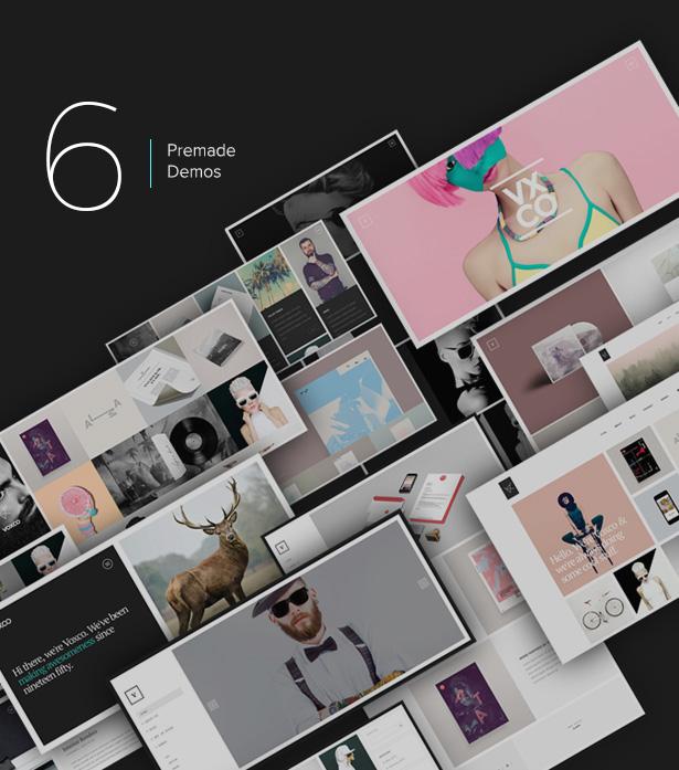 Voxco - Portfolio Theme for Creative People - 1