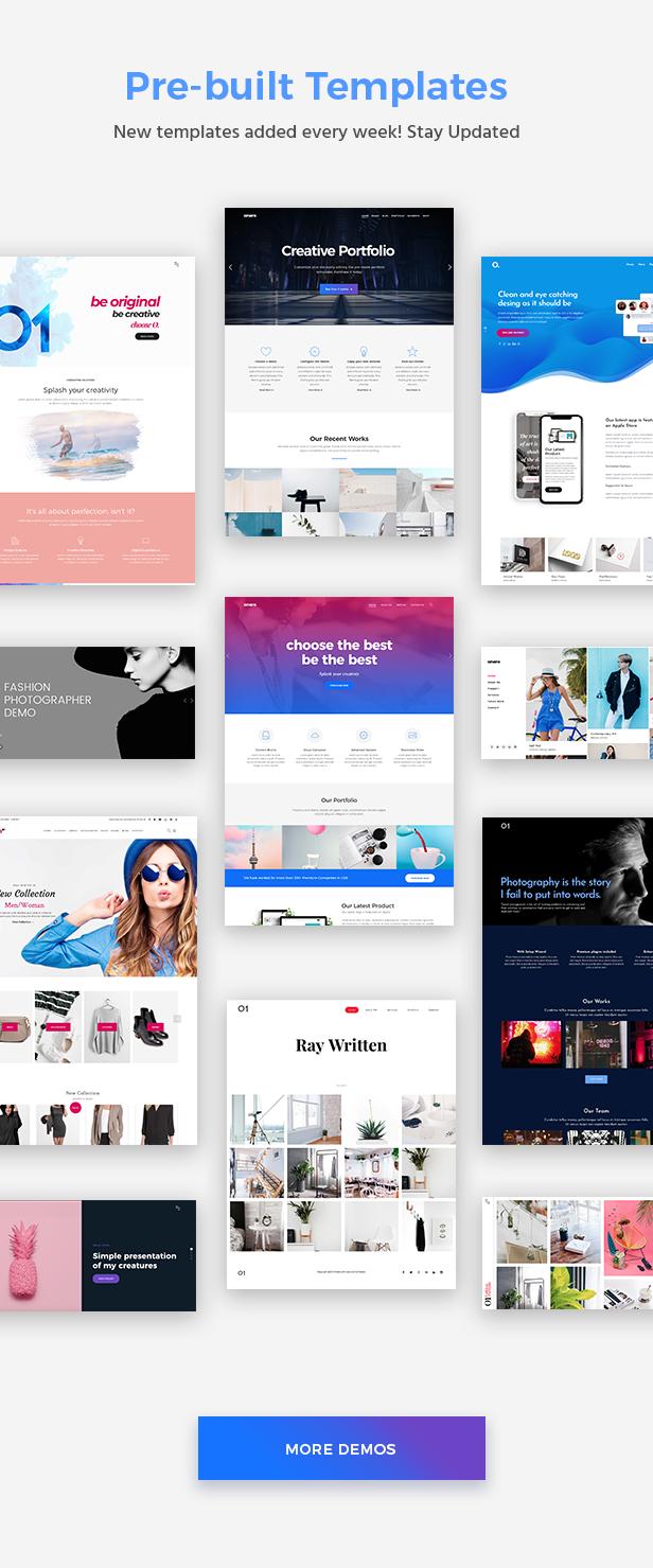 Onero | Creative Portfolio Theme for Professionals - 4