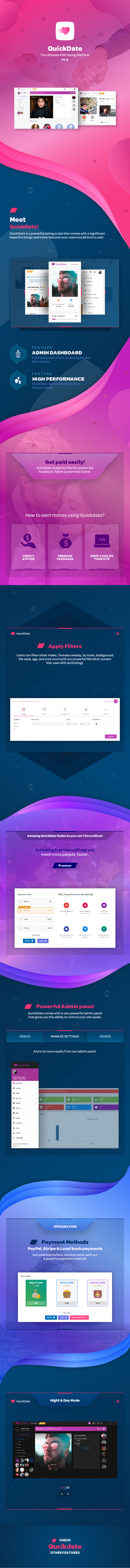 QuickDate - The Ultimate PHP Dating Platform - 1