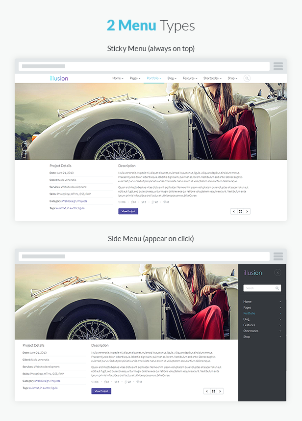 illusion - Premium Multipurpose HTML Template - 9