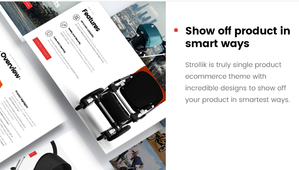 strollik single product-show off product