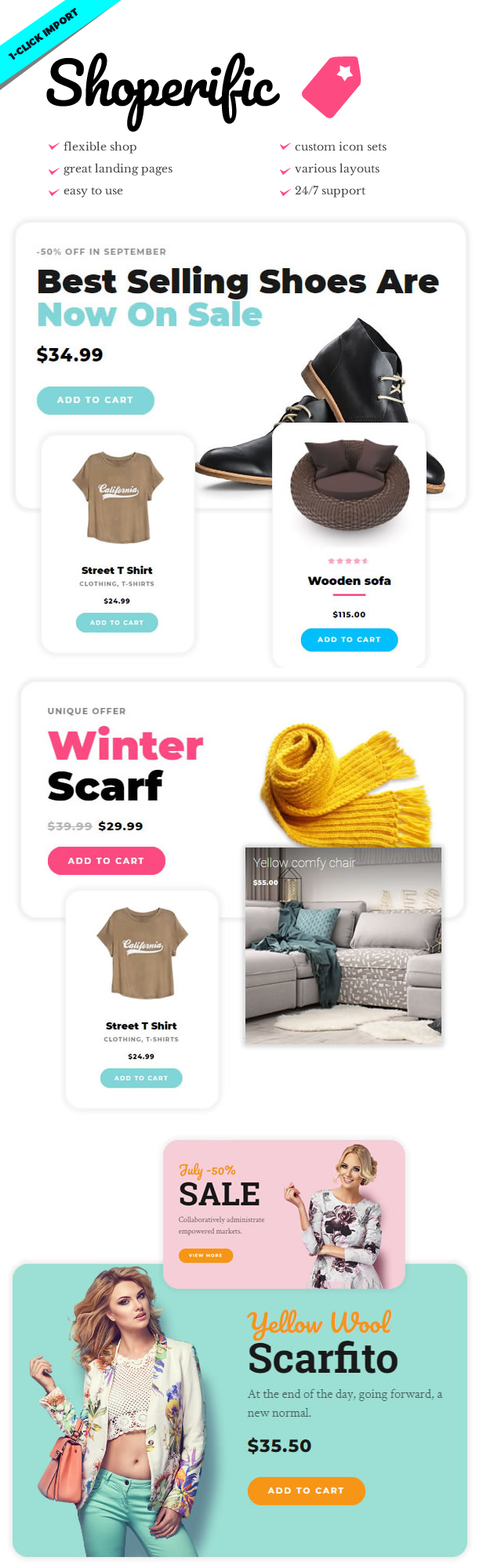 Shoperific - Flexible WooCommerce Shop - 1