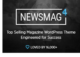 Newsmag WordPress theme by tagDiv