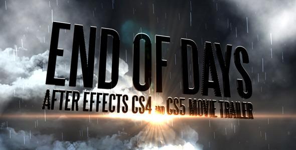 End Of Days - CS4&CS5 Trailer - 1