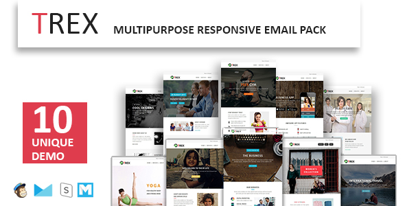 Marz - Multipurpose Responsive Email Template With StampReady Builder Access - 1