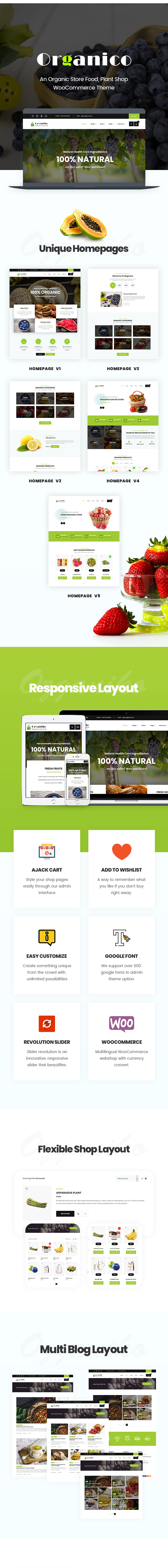Ozganiko - A Organic Store And Food Shop WordPress Theme - 3