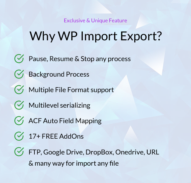 WP Import Export - 20