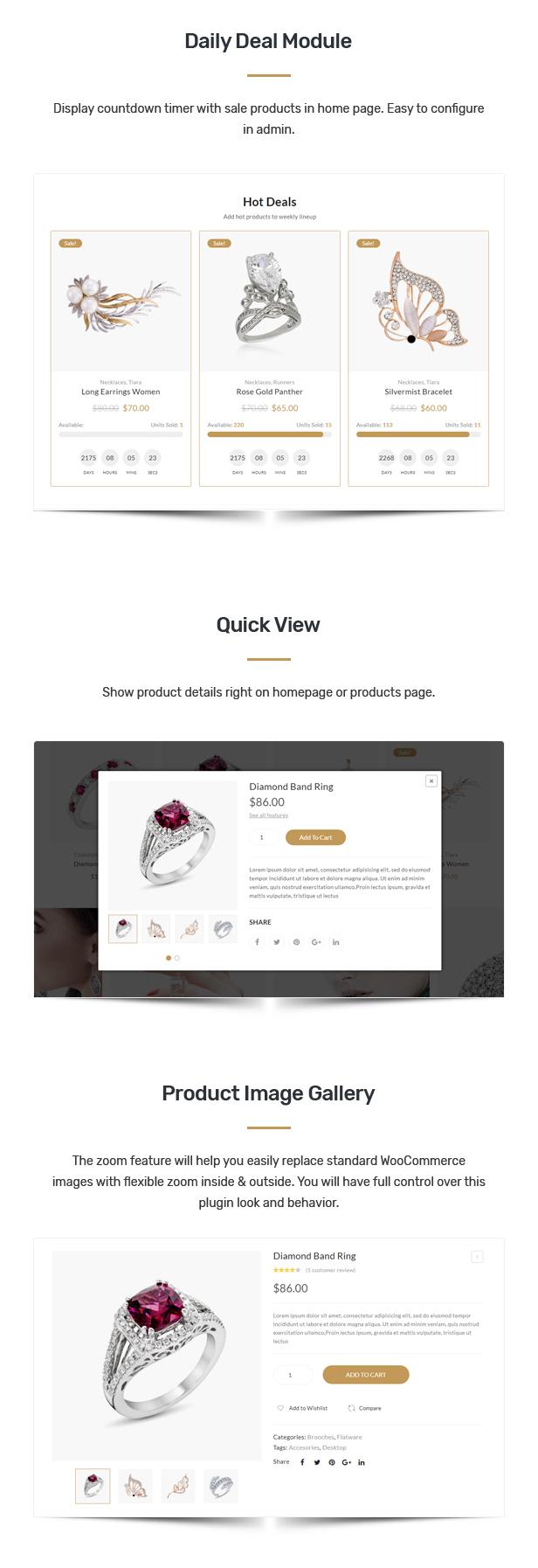 Corano - Jewellery Theme for WooCommerce WordPress 28