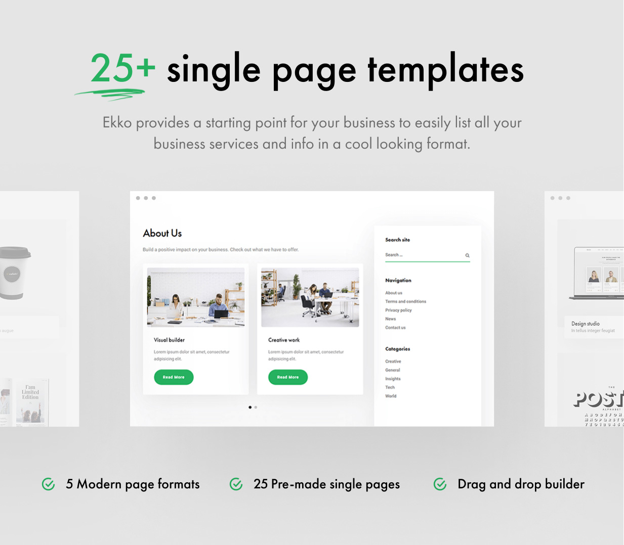 Ekko - Multi-Purpose WordPress Theme with Page Builder - 14