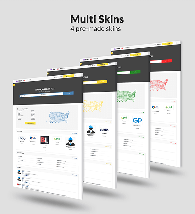 Job Board - Multi Skins