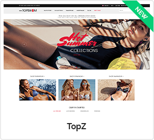 TopZ - Multipurpose Responsive WooCommerce WordPress Theme