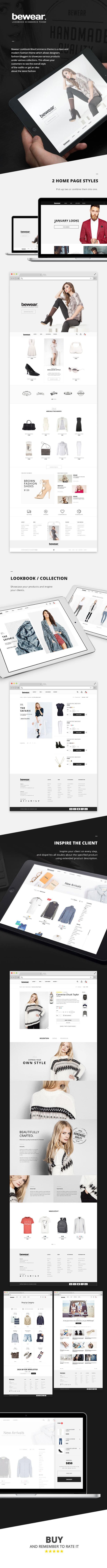 Bewear - Fashion LookBook WooCommerce Theme - 1