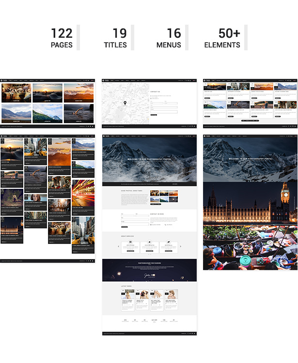 Saha - Photography / Creative Portfolio Template - 2