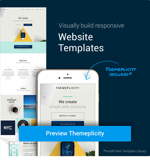 Slider Revolution Themeplicity Template