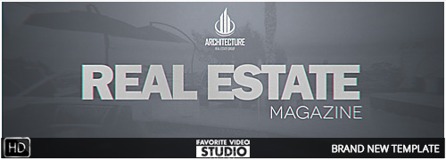 Real Estate Magazine Template 2017