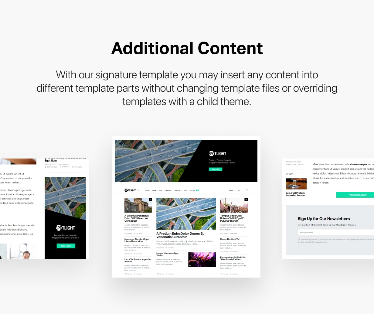 Spotlight - Feature-Packed News & Magazine WordPress Theme - 37