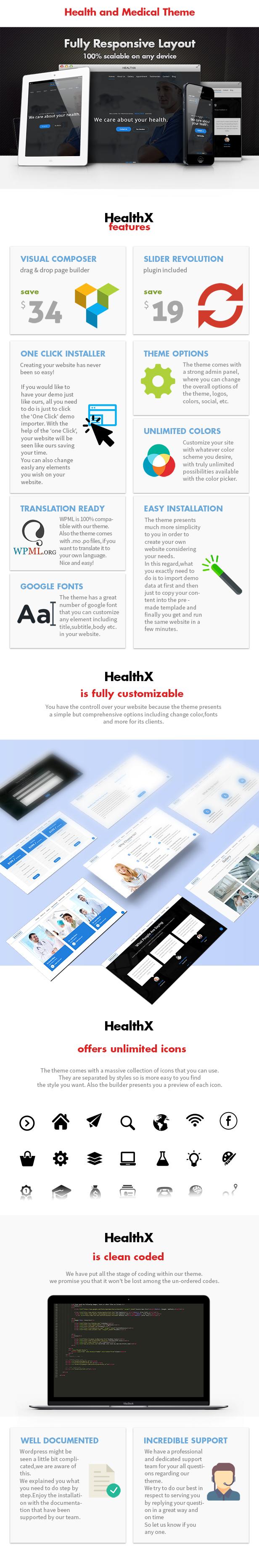 HealthX - Health and Medical Theme - 6