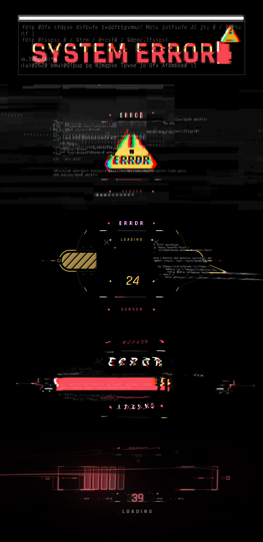 AE脚本-500个HUD高科技赛博朋克UI科幻界面元素动画预设包 Cyberpunk HUD UI 500+ 已修复中文版AE表达式报错插图12