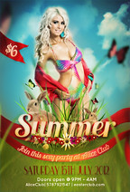 Deluxe White Flyer Template - 30
