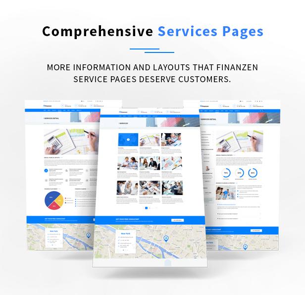 Finanzen - Consultant, Finance & Business WordPress Theme - 7