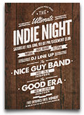 Indie Electronic Flyer/Poster - 13
