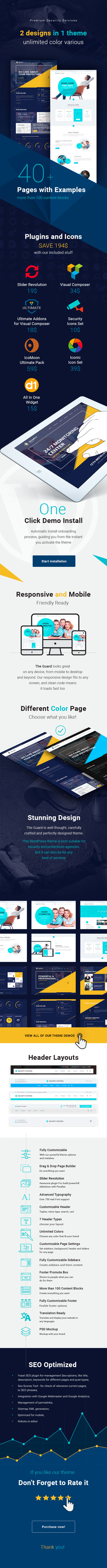 The Guard - Security Wordpress Theme