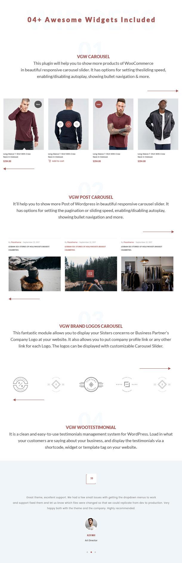 VG T90 - Clean, Minimalist WooCommerce WordPress Theme - 17