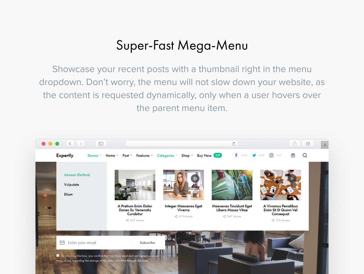 Expertly - WordPress Blog & Magazine Theme for Professionals - 28