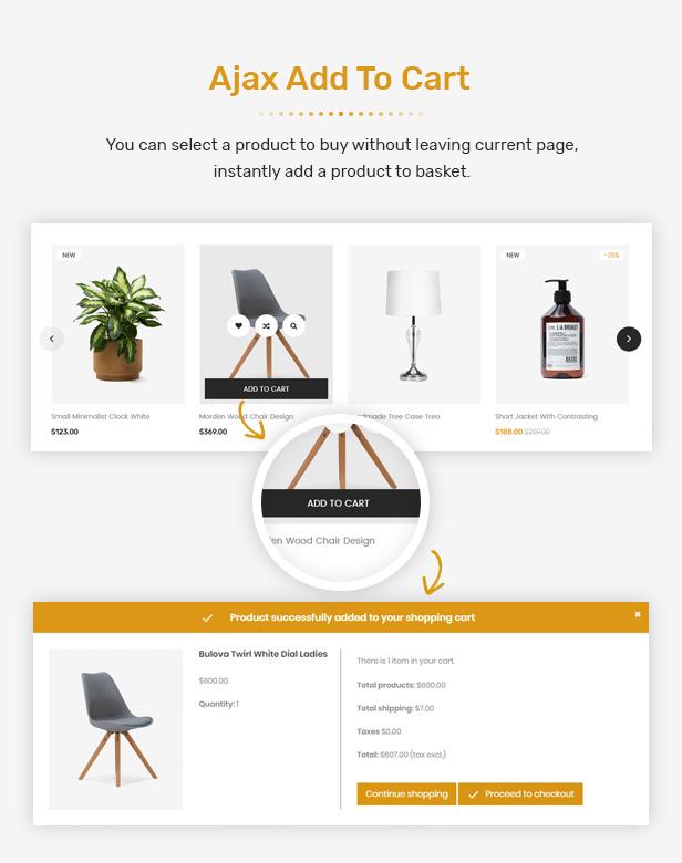 FuniHome - Responsive PrestaShop 1.7 Furniture Shop Theme - 10