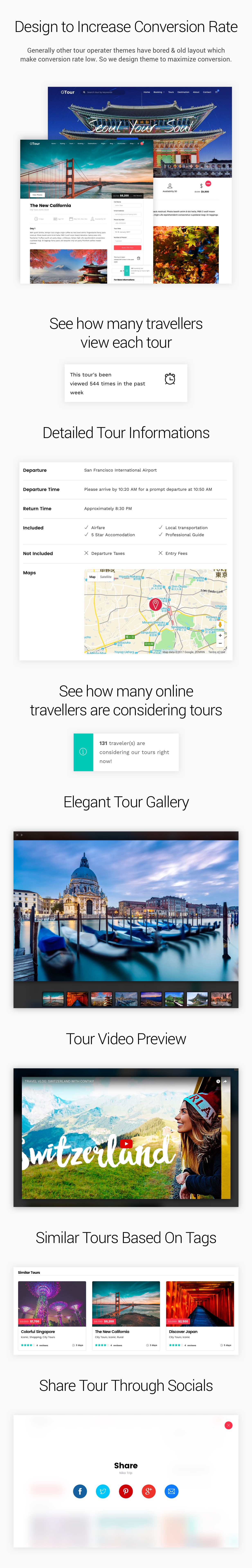 Grand Tour - Tour Travel WordPress for Travel and Tour