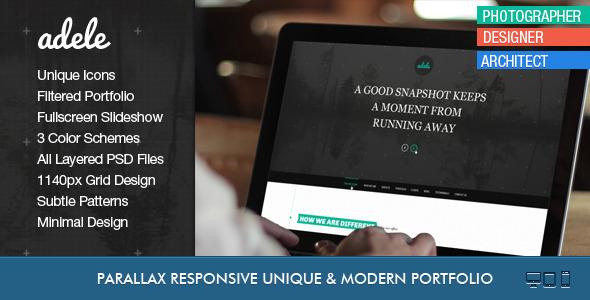 Mozart - Flat Responsive Onepage PSD - 8