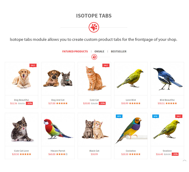 Petshop - Animal Care Responsive Prestashop 1.7 & 1.6 Theme by ...