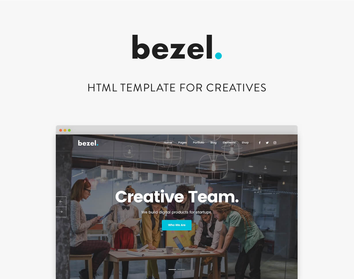 Bezel - Creative Multi-Purpose Joomla Template