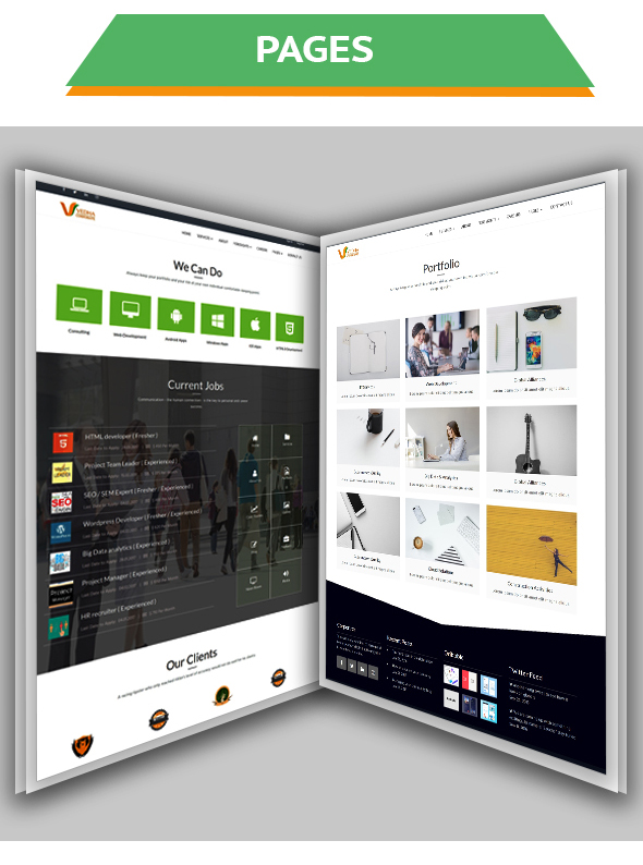 Vedha - Corporate HTML template - 2