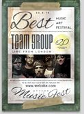 Music Team Flyer