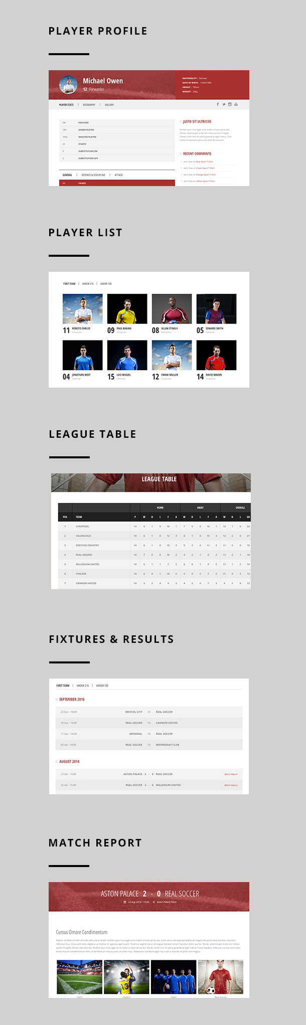 Real Soccer - Sport Clubs WordPress - 4