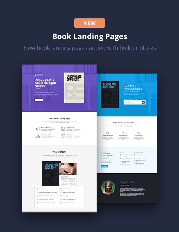 RGen Landing Page with Page Builder - 22