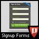 Large Signup Form