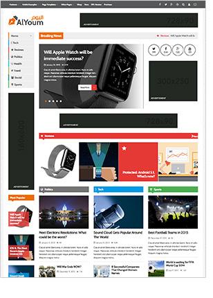 AlYoum   Retina Magazine and Blog WordPress Theme - 9
