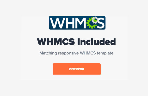 Material Hosting WHMCS Theme