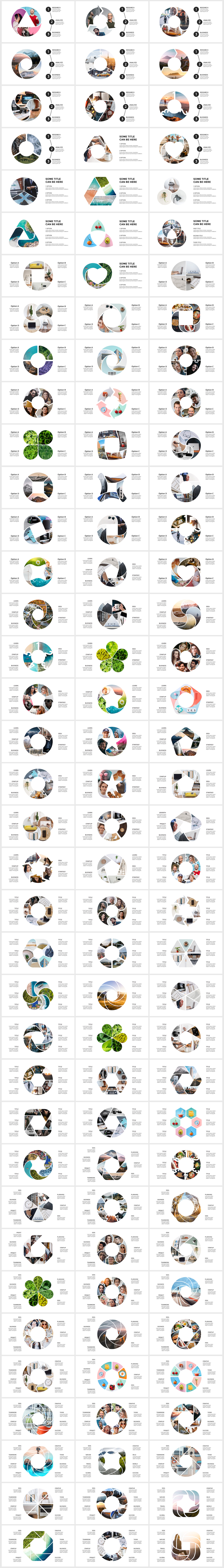 Huge Infographics Bundle! Lifetime Updates! PowerPoint, Photoshop, Illustrator. - 161