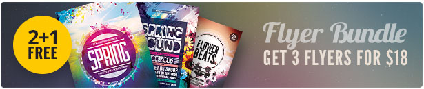 Spring Flyer Bundle Vol.03