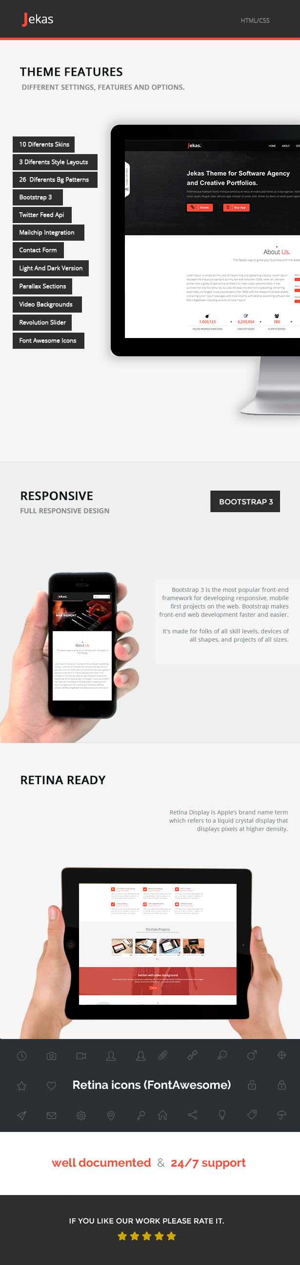 Software, Technology & Business Bootstrap Html Template - Jekas - 14