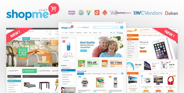ShopMe - WooCommerce WordPress Theme
