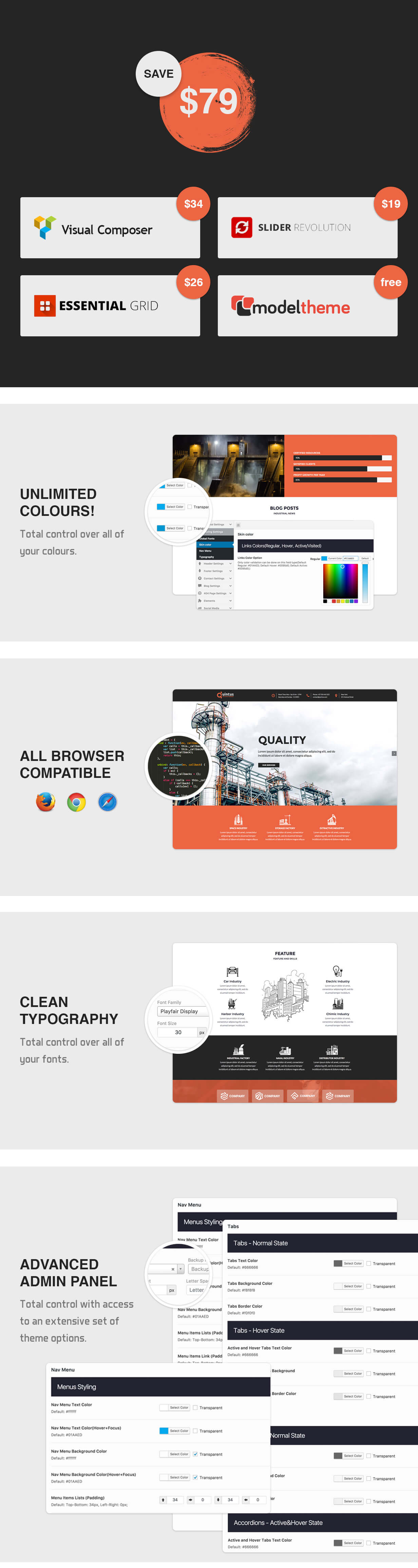 Quintus - Industry / Factory / Engineering WordPress Theme - 4