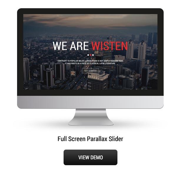 Wisten - One Page Parallax Joomla Template - 4
