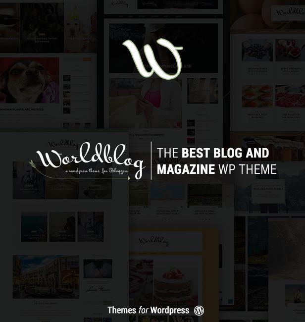 Worldblog - WordPress Blog and Magazine Theme - 1