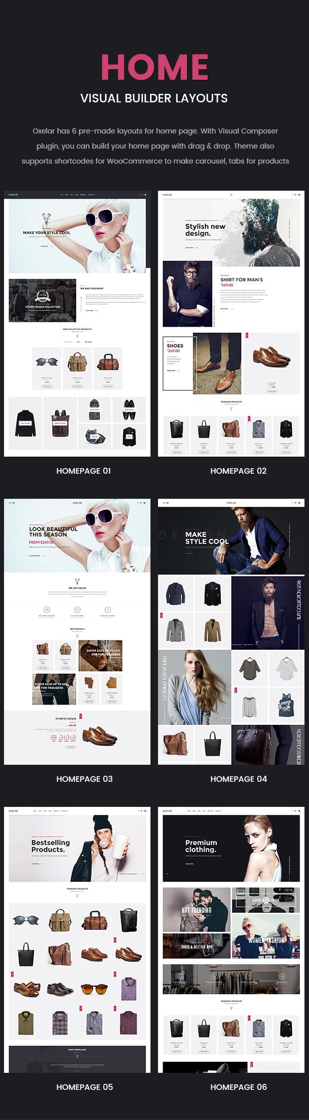 Oxelar - Fashion Responsive WordPress Theme 26